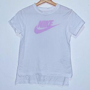 White & Purple NIKE Shirt